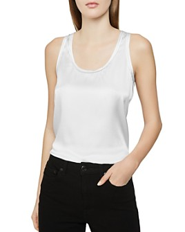 REISS - Remey Mixed-Media Tank
