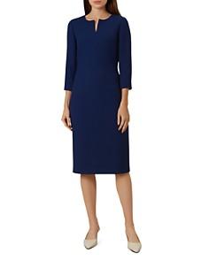 HOBBS LONDON - Viviene Pique Sheath Dress