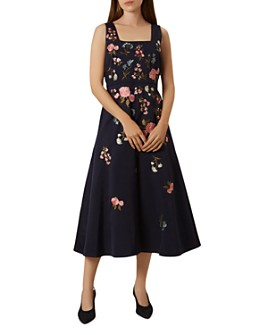 HOBBS LONDON - Victoria Posey Embroidered Dress