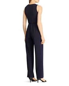 Ralph Lauren - Belted Crepe Jumpsuit