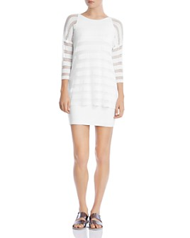 Bailey 44 - Seeing Double Layered-Look Dress