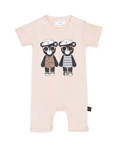 Huxbaby - Girls' Twins Short Coverall - Baby