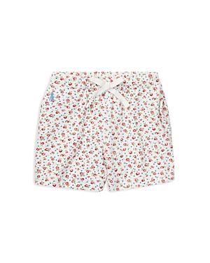 Ralph Lauren Childrenswear Girls Floral Stretch Mesh Shorts  Little Kid