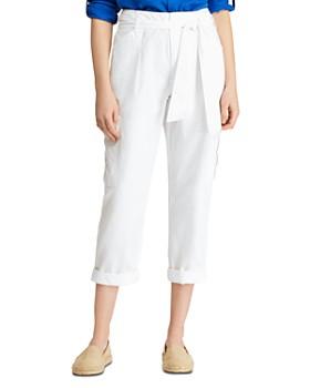 Ralph Lauren - Cropped Cotton Cargo Pants