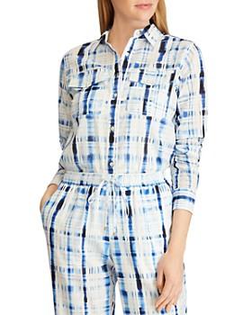 Ralph Lauren - Tie-Dye Plaid Shirt