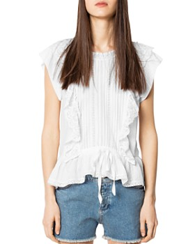 3c90d0b853c Zadig & Voltaire Women's Tops: Graphic Tees, T-Shirts & More ...