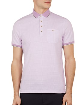 d2bdadf34 TRIPLE POINTS FOR LOYALLISTS IN MEN S. Ted Baker - Sekii Geo Print Regular  Fit Polo Shirt ...