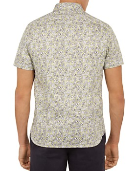 Ted Baker - Buffilo Botanical Print Regular Fit Shirt