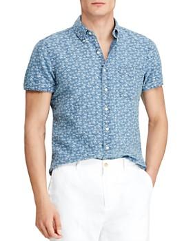Polo Ralph Lauren - Seaside-Print Linen Classic Fit Button-Down Shirt - 100% Exclusive