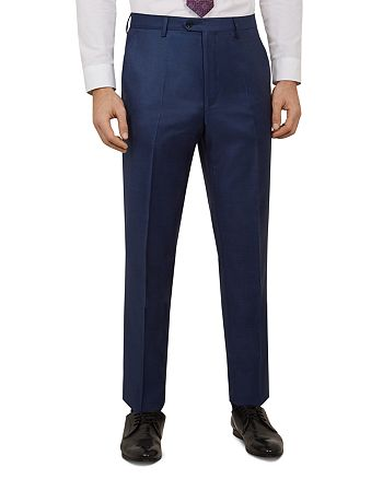 Ted Baker - Kernalt Debonair Sharkskin Slim Fit Trousers