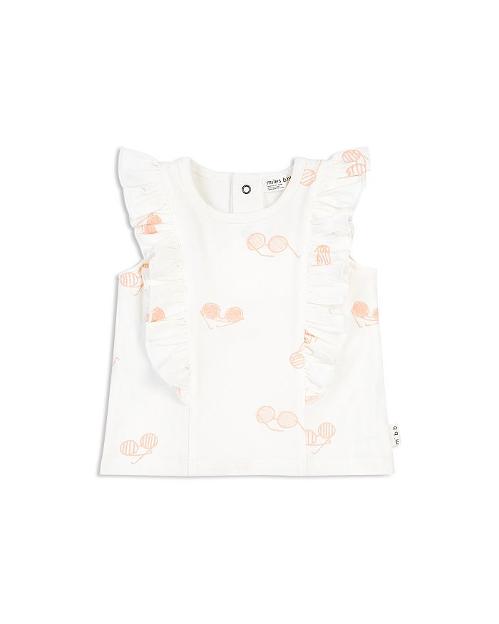 Miles Baby - Girls' Sunglass-Print Tank Top - Baby