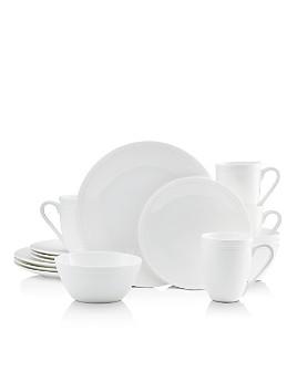 Mikasa - Loria White 16-Piece Dinnerware Set