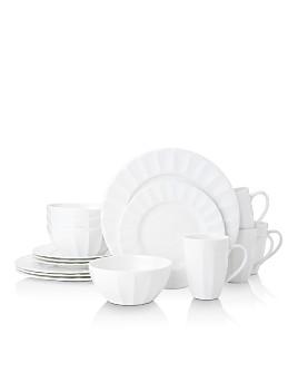 Mikasa - Bonaire White 16-Piece Dinnerware Set