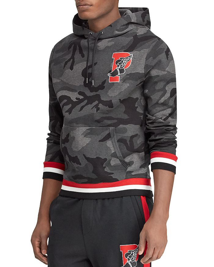 be7fbc8264a4a P-Wing Camouflage-Print Hooded Sweatshirt
