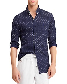 Polo Ralph Lauren - Anchor-Print Slim Fit Button-Down Shirt