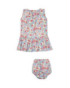 Ralph Lauren - Girls' Floral Cotton Dress & Bloomers Set - Baby