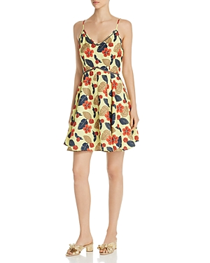 Scotch & Soda Tropical-Print Mini Dress