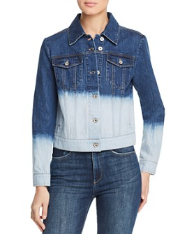 Bagatelle - Dip-Dye Denim Jacket