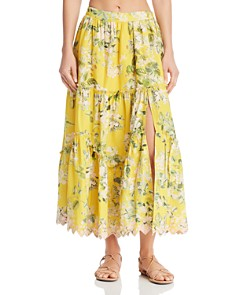 Hemant and Nandita - Floral Maxi Skirt