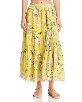 Hemant and Nandita - Floral Maxi Skirt