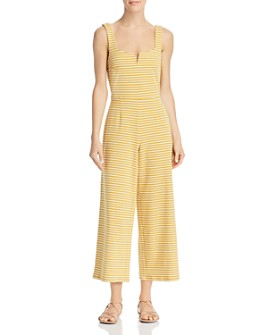 Saylor - Heathe Striped Jumpsuit