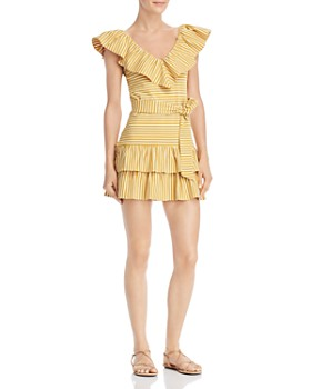 Saylor - Tamanna Ruffle Mini Dress