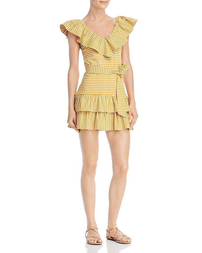 Saylor - Tamanna Ruffle Mini Dress