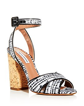 Tabitha Simmons - Women's Connie Ankle Strap High Block-Heel Sandals - 100% Exclusive