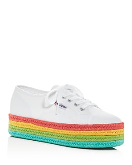 Superga - Women's Cotu Low-Top Platform Sneakers
