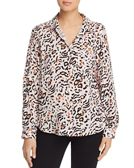 Velvet Heart - Animal-Print Shirt