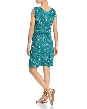 Leota - Tara Sleeveless Leaf-Print Dress