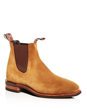R.M. Williams - Men's Comfort Craftsman Suede Chelsea Boots