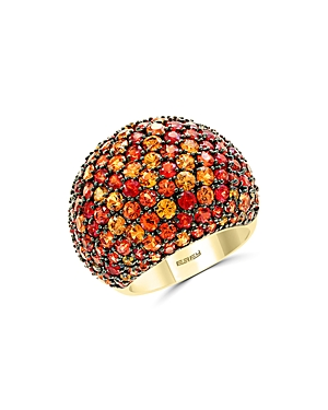 Bloomingdale's Multi-Sapphire Statement Ring in 14K Yellow Gold - 100% Exclusive