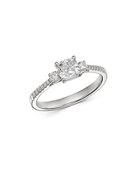Bloomingdale's - Cushion-Cut Diamond Engagement Ring in 14K White Gold, 1.0 ct. t.w. - 100% Exclusive