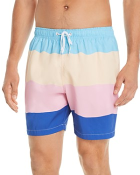BOARDIES - Striped Swim Shorts