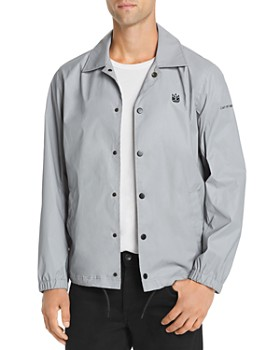 Cult of Individuality - Graphic Reflective Coaches Jacket