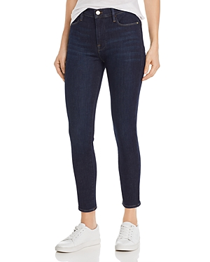 Frame Jeans LE HIGH CROPPED SKINNY JEANS IN SAMIRA