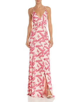 Jay Godfrey - Turner Feather-Print Gown