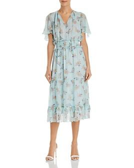 Shoshanna - Mercerie Floral Midi Dress