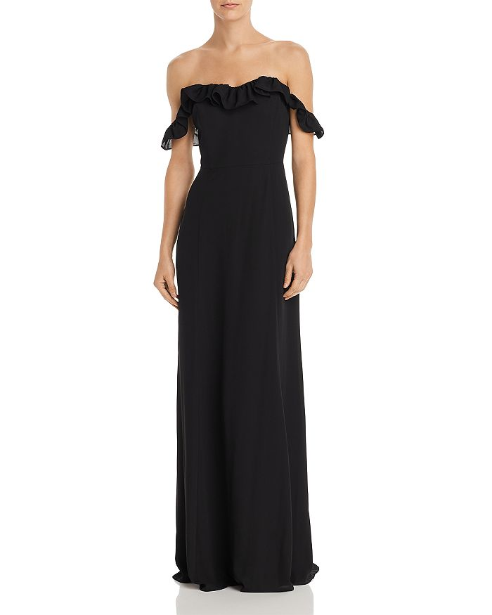 WAYF - Harlow Off-the-Shoulder Gown