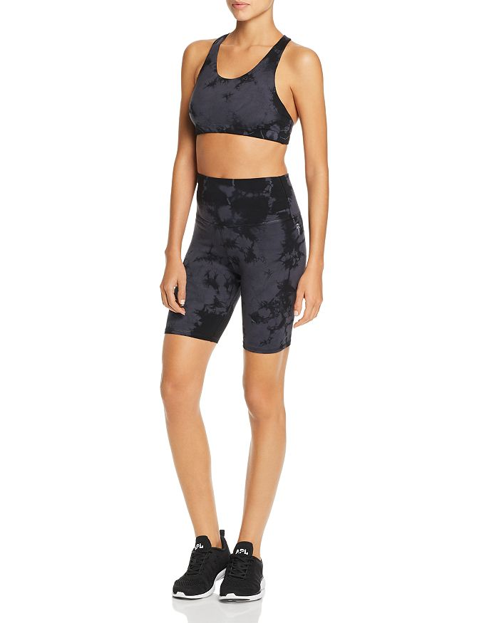 Electric & Rose - Estrella Tie-Dye Racerback Sports Bra & Cali Biker Shorts