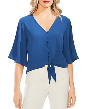 Vince Camuto Tops TIE-FRONT BLOUSE