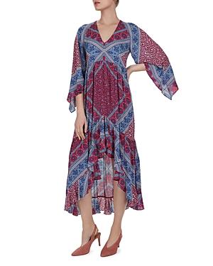 Ba&sh Dresses USSO PAISLEY HIGH/LOW DRESS
