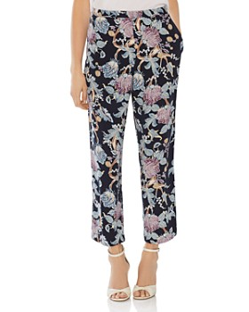 VINCE CAMUTO - Poetic Blooms Cropped Pants