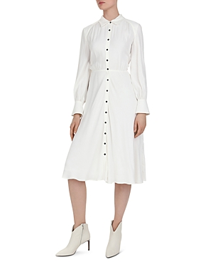 Vintage Dresses Australia- 20s, 30s, 40s, 50s, 60s, 70s Ba  sh Nida Midi Shirt Dress AUD 287.75 AT vintagedancer.com