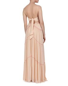 ba&sh - Nadja Tie-Back Tiered Maxi Dress