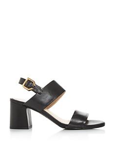 Cole Haan - Women's Avani City Embossed Block-Heel Sandals