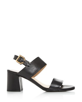 Cole Haan - Women's Avani City Embossed Block-Heel Sandals