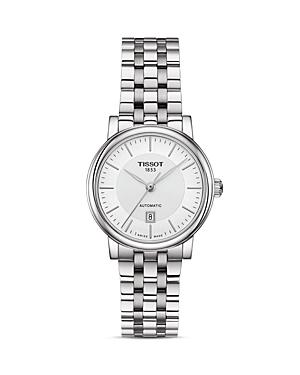 Tissot Carson Premium Link Bracelet Automatic Watch, 30mm-Jewelry & Accessories
