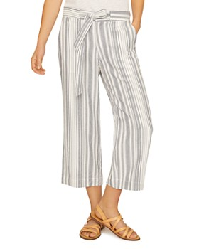 Sanctuary - Striped Cropped Pants